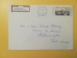 1983 BUSTA STATI UNITI UNITED STATES U.S. BOLLO LIBRARY OF CONGRESS ANNULLO OBLITERE' LITTLE ROCK - Stati Uniti