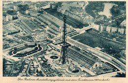 BERLIN - Das Berliner Ausstellungsgelande Mit Dem Funkturm - Duitsland