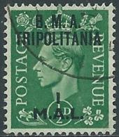 1948 OCCUPAZIONE INGLESE USATO TRIPOLITANIA BMA 1 MAL - RB31-2 - Tripolitania