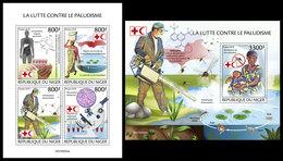 NIGER 2019 - Malaria: Artemisinin, Mefloquine, M/S + S/S. Official Issue [NIG190505] - Pharmacy