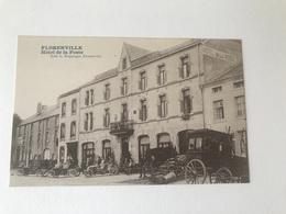 Florenville  Hôtel De La Poste  Edit L Duparque   MALLE POSTE  ATTELAGE - Florenville