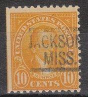 USA Precancel Vorausentwertung Preo, Locals Mississippi, Jackson 562-548 - Vereinigte Staaten