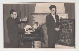 Mouscron  CARTE PHOTO  Robert Seynave  Magicien Magie Goochelaar - Mouscron - Moeskroen