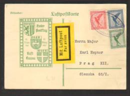 Allemagne P.A. - 1er Vol 21 Mars 1927 - Berlin - Dresde - Progue - Duitsland