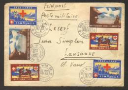 Suisse - Poste Militaire-  Lettre Vers Lausanne - Militaire Post