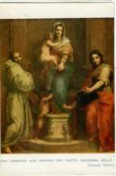 MADONNA DELLE ARPIE  Andrea Del Sarto - Vergine Maria E Madonne