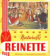 VP-GF.19-RO 077 : BUVARD. BISCOTTES REINETTE.  LE SACRE DE NAPOLEON. - Löschblätter, Heftumschläge