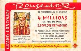 VP-GF.19-RO 85 : BUVARD. COLLECTION ROUGE ET OR. HISTOIRE DE FRANCE. - Löschblätter, Heftumschläge
