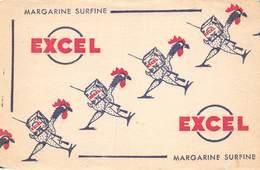 VP-GF.19-RO 90 : BUVARD. MARGARINE SURFINE. EXCEL. - Löschblätter, Heftumschläge
