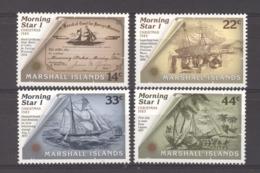 Marshall    :  Yv  96-99  **      Bateau - Boat - Marshalleilanden
