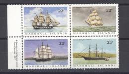 Marshall    :  Yv  136-39  **      Bateau - Boat - Marshalleilanden