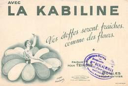 VP-GF.19-RO 98 : BUVARD. LA KABILINE. TEINTURE. - Löschblätter, Heftumschläge