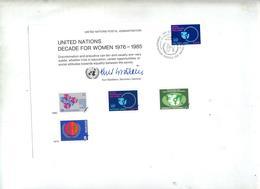 Carte Fdc 1980 Décennie Femme - New York – UN Headquarters