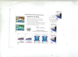 Carte Fdc 1983 Securite En Mer Theme Phare - FDC
