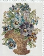 Chromos  - DÉCOUPIS - - Flowers