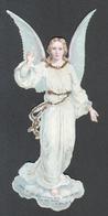 Ange Annonçant Le Jour Du Salut, Hauteur: 13,5 Cm - Angels