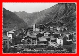 CPSM/gf ANDORRA LA VELLA (Andorre)  Vue Panoramique...I997 - Andorre