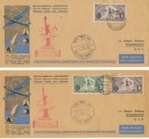 Commemoration Battle Of The Bulge WW 2 – Bastogne – 101 Airborne – 2 SABENA Souvenir Flight - WO2