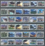 NZ  - USED - LOT OF 135 NZM POST STAMPS - Lot 20758 - Nieuw-Zeeland