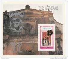 Nicaragua Hb Michel 123b - 1982 – Espagne