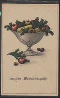 Ansichtskarte    Weihnachten                  2 Fotos   Gebrauchsspuren - Cartes Postales