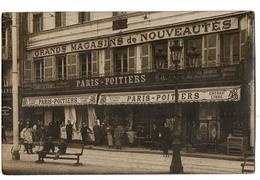 PARIS GRANDS MAGASINS DE NOUVEAUTES CARTE PHOTO ANIMEE - France