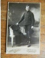 BORDEAUX +GUERRE 14/18:PHOTO D'UN SOLDAT FRANCAIS DECEDE EN 1918-SON NOM EST GEORGES MERCIER - Weltkrieg 1914-18