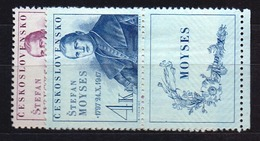 1947 Czechoslovakia MNH - Mi 525-526 Zf. Yv 451-452 ** MNH - Tschechoslowakei/CSSR