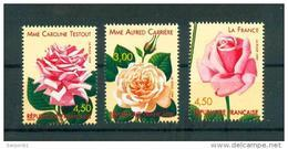 France 3248 3250 1999 1/4 De Cote Roses Anciennes Du BF 24 Neuf ** TB MNH Cote 12 - France
