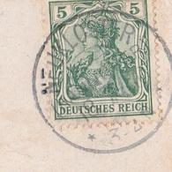 Deutsches Reich Karte Mit Tagesstempel Neukloster Hannover 1910 KOS Stempel Kurhotel Paterborn Neukoster - Covers & Documents
