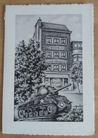 Cp Bastogne Hotel-restaurant  Au Luxembourg (place Général Mac Auliffe) - Hotels & Restaurants