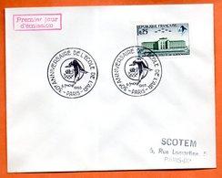 PARIS L'ECOLE DE L'AIR 1965 Lettre Entière N° AB 257 - Marcophilie (Lettres)
