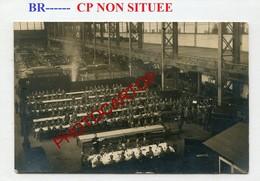 BR----CP Non Situee-Atelier-Reparation-VOITURES-CARTE PHOTO Allemande-Guerre 14-18-1 WK-BELGIEN-??-Militaria- - Guerre 1914-18