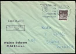 11256 BRD Brief Werbestempel Wolfsburg Auto VW Stadt 1966 - [7] Federal Republic