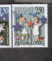 CEPT Sternenturm Bosnien Herz. / Serbien 167 - 168  MNH Postfrisch ** Neuf - 2000