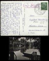 S6740 - BRD Postkarte AK Tübingen Mit Landpoststempel:gebraucht Bühl über Tübingen - München 1958 , Bedarfserhaltung. - BRD