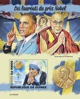 Guinea 2019, Nobel Prixe, Mother Teresa, Dalai Lama, BF - Mutter Teresa