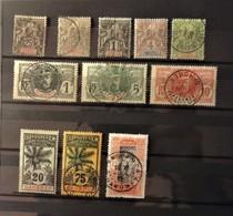 12 - 19 //  Dahomey  - Lot De Timbres - En Général Beau - TB - Les Neufs Sont  * - Cote : 70 Euros - Oblitérés