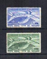 Vaticano - 1943 - 75° Anniversario Dell' U.P.U. - Posta Aerea - Serie Completa 2 Valori - Nuovi ** - (FDC18754) - Nuovi