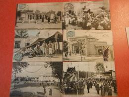 Lot 81 Cpa Expositions- Anciennes MARSEILLE-PARIS-BORDEAUX-BRUXELLES-USA. - Postkaarten