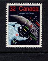 891152950 1985 SCOTT 1046 POSTFRIS MINT NEVER HINGED EINWANDFREI (XX) - CANADIANS IN SPACE - 1952-.... Regering Van Elizabeth II
