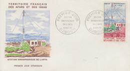 Enveloppe  1er  Jour  TERRITOIRE  FRANCAIS  Des  AFARS  Et  ISSAS     Station  De  L' ARTA   1970 - Afars Et Issas (1967-1977)
