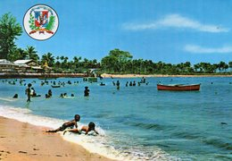 REPUBLIQUE DOMINICAINE - Puerto Plata - Playa De Long Beach - Postkaarten