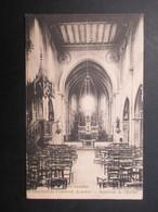 CP FRANCE (V1812) St-VINCENT-DE-TYROSSE 40 (2 Vues) Intérieur De L'église 1923 - Saint Vincent De Tyrosse