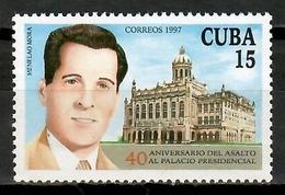 Cuba 1997 / Menelao Mora Presidential Palace Assault MNH Asalto Al Palacio Presidencial / Cu15217  32-31 - Cuba