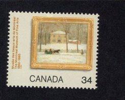 891156901 1985 SCOTT 1076 POSTFRIS MINT NEVER HINGED EINWANDFREI (XX) - MONTREAL MUSEUM OF FINE ARTS - 1952-.... Regering Van Elizabeth II