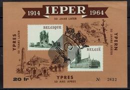 Belgien Belgie Belgium 1964/65 - Ypern Ieper Ypres - OBP Nr E89 Erinnofilie Mit Aufdruck 1965 - WW1 (I Guerra Mundial)