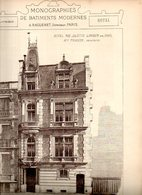 Monographies De Batiments Modernes N° 83 : Hôtel 12 R Juliette Lamber 75017 Paris - Architecture
