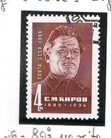 URSS -   SG  3275   - 1966    S.M. KIROV, POLITICIAN          -  USED°  - RIF. CP - 1923-1991 USSR
