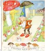 Carte Champignon Illustrateur  Ida Bohatta Morpurgo - Funghi